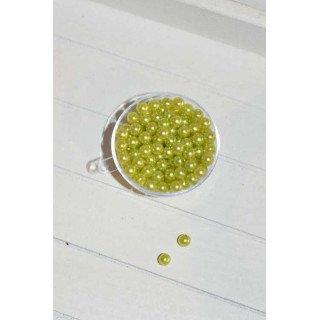 perles décoration de table vert (sachet de 100)