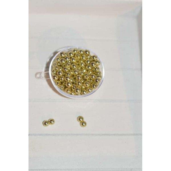 perles décoration de table or (sachet de 100