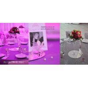perles décoration de table violet (sachet de 100)