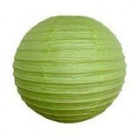 Boule Lampion papier vert anis 40cm