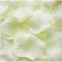 Pétales de roses artificielles ivoire (sachet de 50)