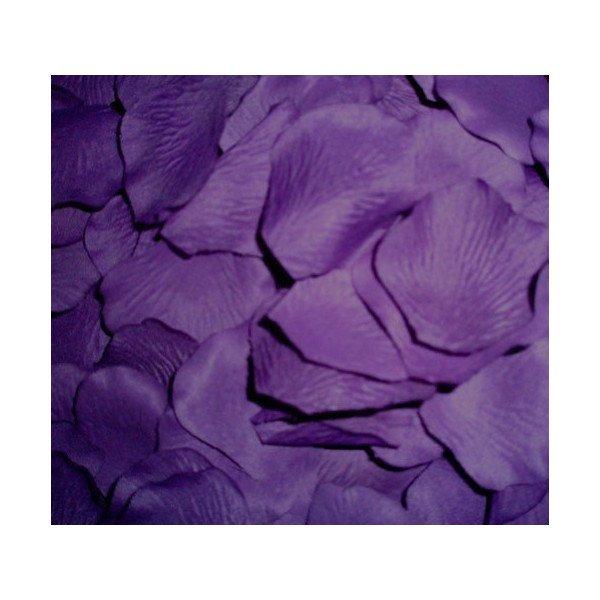 Pétales de roses mariage parme (sachet de 50)