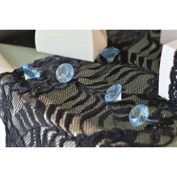 Diamant déco de table bleu 18mm sachet de 350g