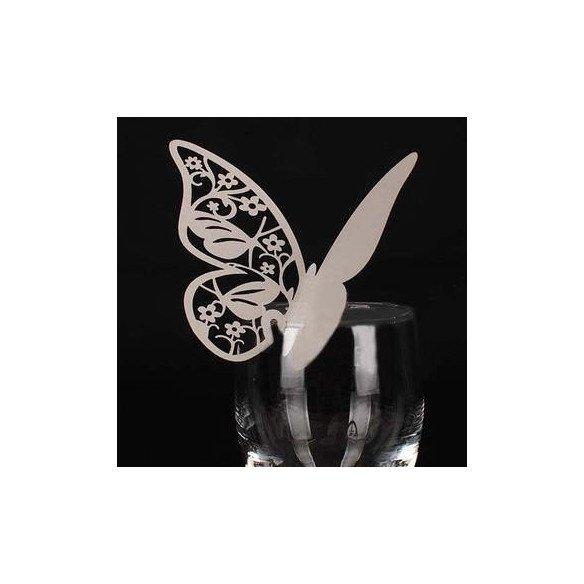 Marque place papillon (paquet de 10)