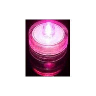 Bougie à LED waterproof Fushia