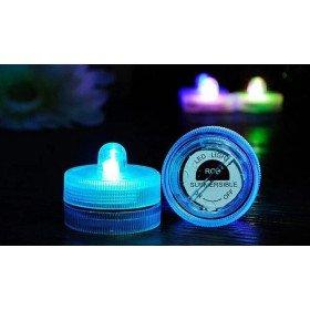 Bougie à LED waterproof Bleu