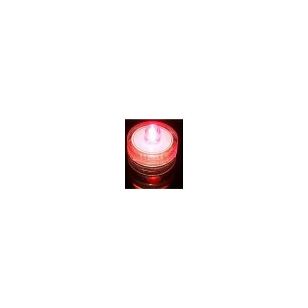 Bougie à LED waterproof  Rouge