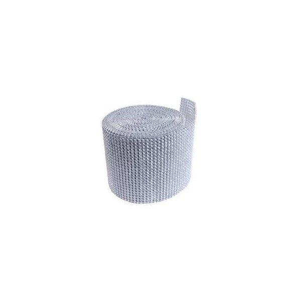 Rouleau 10 mètres fil aluminium métal argenté clair 0,8mm diamètre *C197