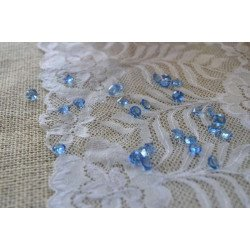 Diamant déco de table bleu roi 8mm (200pcs)