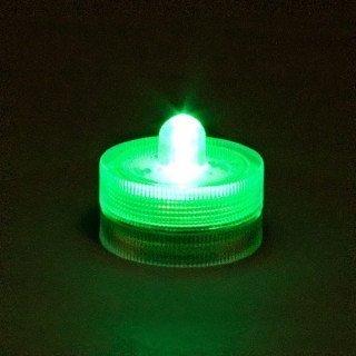 Bougie à LED waterproof vert clairX12