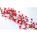 Guirlande de perles rouge (42 mètres)
