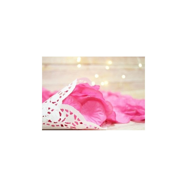 Pétales de roses FUSHIA CLAIR(sachet de 50)