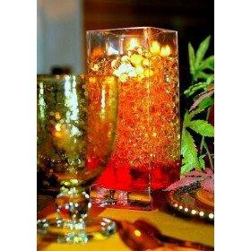 Perles d'eau orange (sachet de 10g)