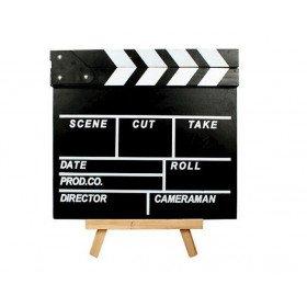 Clap cinéma ardoise+craie