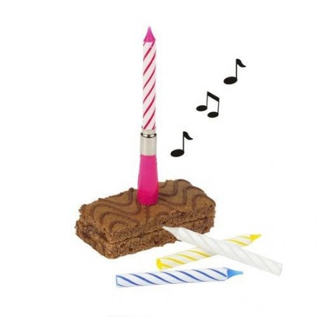 Bougie anniversaire musicale
