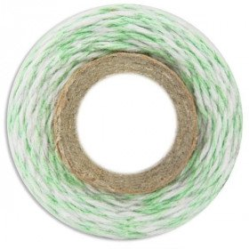 Ficelle coton baker twine vert d'eau 100m