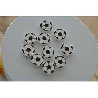 Ballon de foot en bois (sachet de 10)