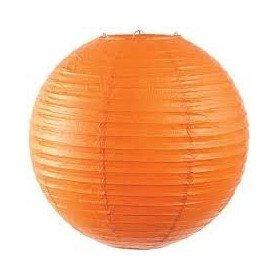 Boule Lampion papier orange 40cm