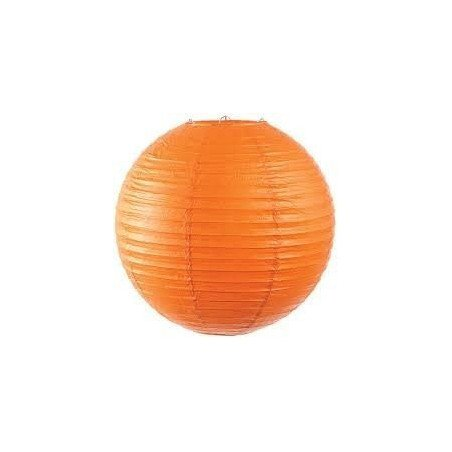 Boule Lampion papier orange 40cm