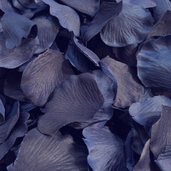Pétales de roses BLEU INDIGO (sachet de 50)