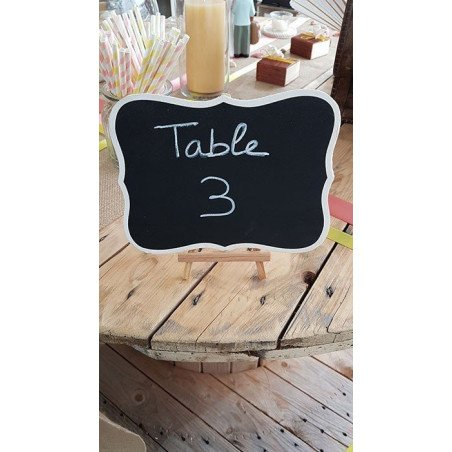 Ardoise nom de table