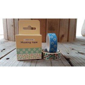 Masking tape impriméNATURE (boite de 2)