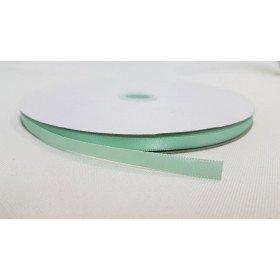 rouleau ruban satin vert d'eau 6mmx91m