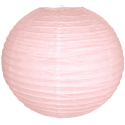 Boule lampion rose pastel 40cm