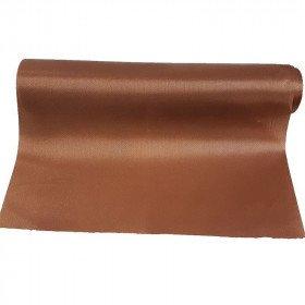 Chemin de table satin marron