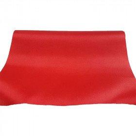 Chemin de table satin rouge