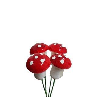 Petit champignon sur tige deco