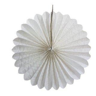 Rosace paiper blanche 30cm