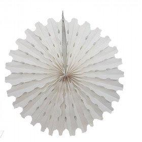 Rosace en papier blanche 50cm