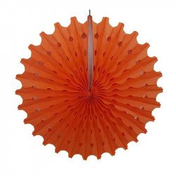 Rosace papier orange 50cm