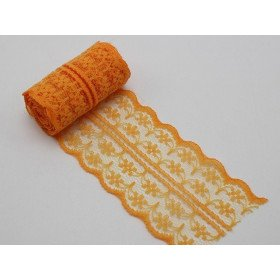 Dentelle orange 5m