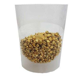 Perles de pluie or 7mm (boite de 80g)