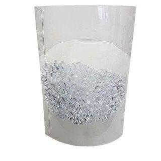 Perles de pluie transparente 7mm