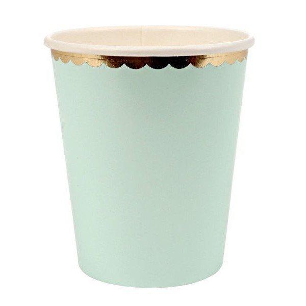 Gobelet vert d'eau  X10