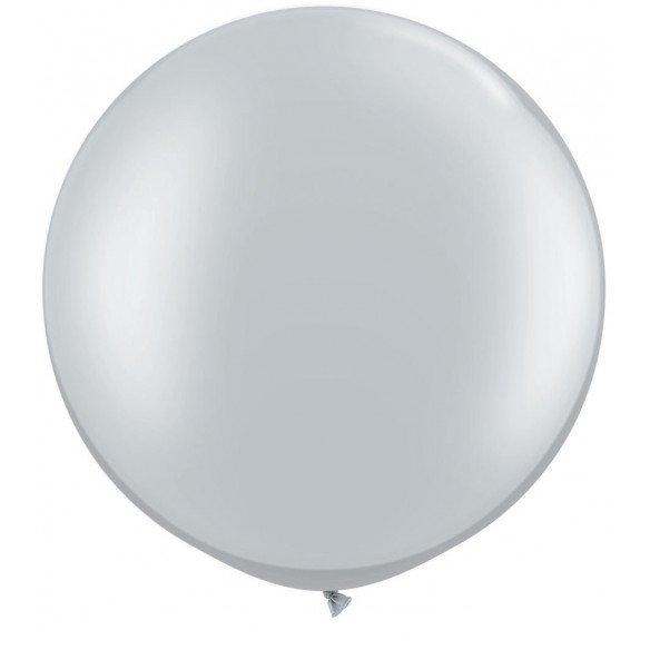 Ballon géant argent 70cm