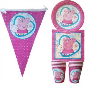 Kit anniversaire peppa pig