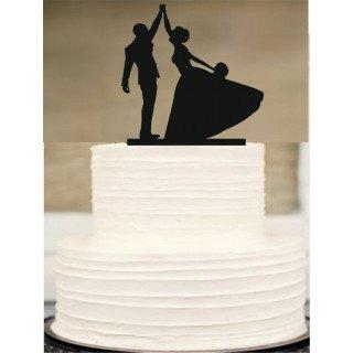 Figurine mariés silhouette