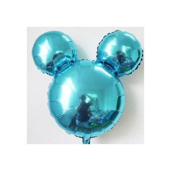 Ballon mickey bleu 29cm