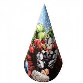 Chapeaux anniversaire Avengers X6
