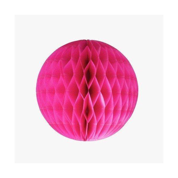 Boule alvéolée fushia 20cm