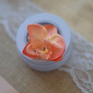 Fleuron d'orchidées violet