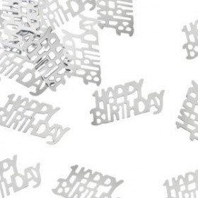 Confetti anniversaire argent
