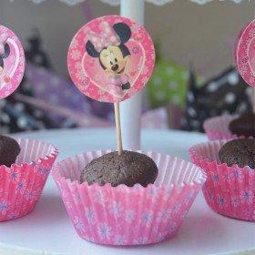 Set cupcake + pic Mickey