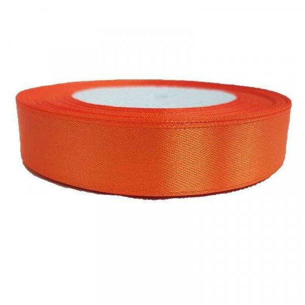 Ruban satin Orange 2cm X 20metres