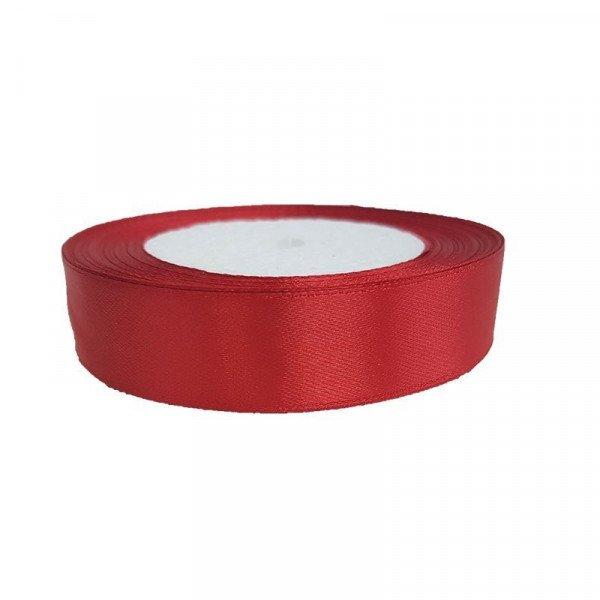 Ruban satin Rouge 2cm X 20metres