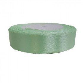 Ruban satin Vert Pastel 2cm X 20metres